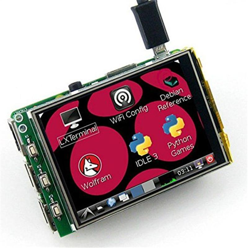 WeiKedz 3.2 Inch TFT LCD Display Module Touch Screen For Raspberry Pi B+ B A+ Raspberry pi 3