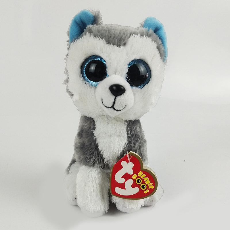 2019 6 15cm Slush The Husky Dog Plush Regular Soft Big Eyed Stuffed Animal  Collection Doll Toy From Babyeden 331520b185e1