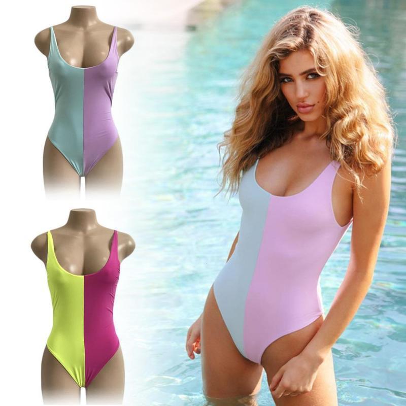 00605b0c7c23a 2019 Bikini One Pieces Swimsuit Pregnant Bodysuit Monokini Swimsuit Women  Push Up Monokini Bathing Suit Beachwear Swimwear Clothes From Okbrand, ...