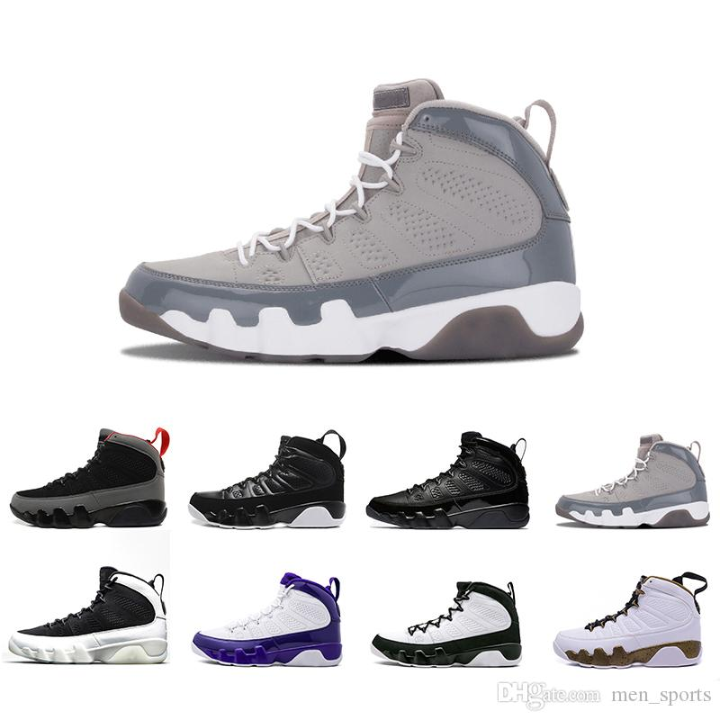 ff1155b0528647 2018 New 9 Cool Grey Men Basketball Shoes OG Space Jam Tour Yellow PE  Anthracite The Spirit Johnny Kilroy Sneakers 41 47 Basketball Shoes For  Girls Discount ...