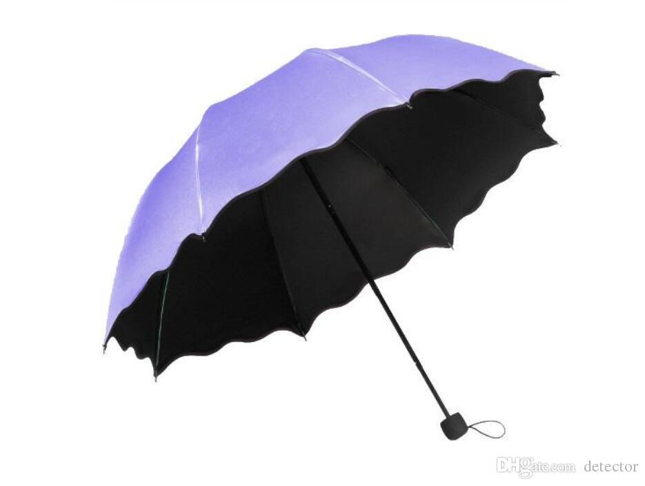 5-pliant Mini Parapluie Coupe-Vent Protection Uv Parapluie Lumière sun /& rain parapluie