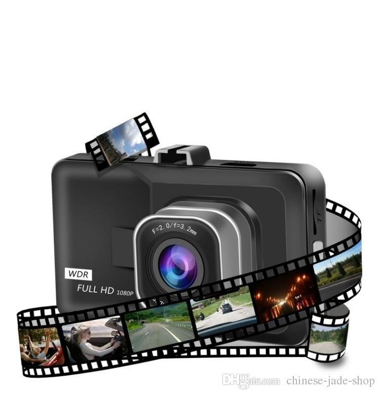 3.0inch CAR DVR FULL HD 1080P Car Camera 170 Degree Angle Dash Cam G-sensor Night Vision Video Recorder Black Kingkong