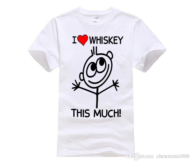 8729df37 MENS FUNNY COOL NOVELTY LOVE WHISKEY WHISKY SLOGAN JOKE T SHIRTS GIFTS PUB  BEER New Tops Print Letters Men T Shirt T Shirt Awesome Popular T Shirt  From ...