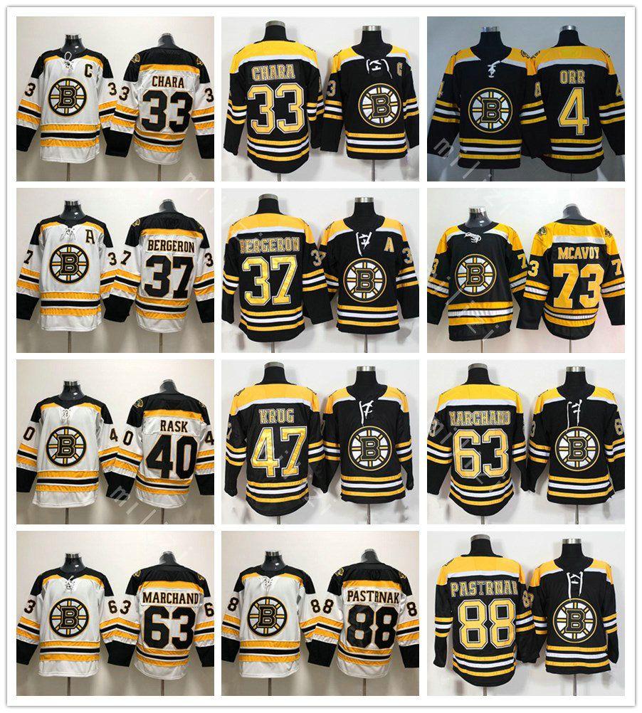 Men Boston Bruins 73 Charlie Mcavoy Jersey 33 Zdeno Chara 37 Patrice ... 1548f087f