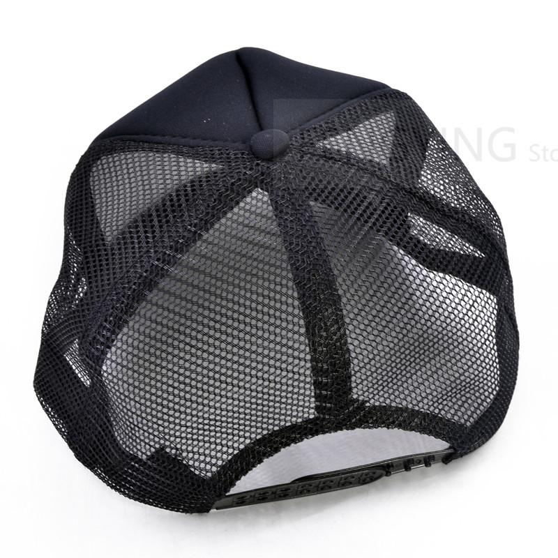 e3a3b2641adaf Men Summer Mesh Trucker Caps GYM Fitness Fans Black Cool Mesh Cap Shape  Bodybuilding Muscle Batman Baseball Caps Custom Baseball Hats Army Hats  From ...