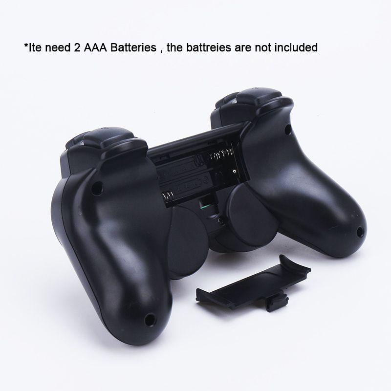 2.4G Kablosuz Ikiz Şok Oyun Denetleyicisi Joystick Oyun Joypad Sony PS2 PlayStation 2 Için