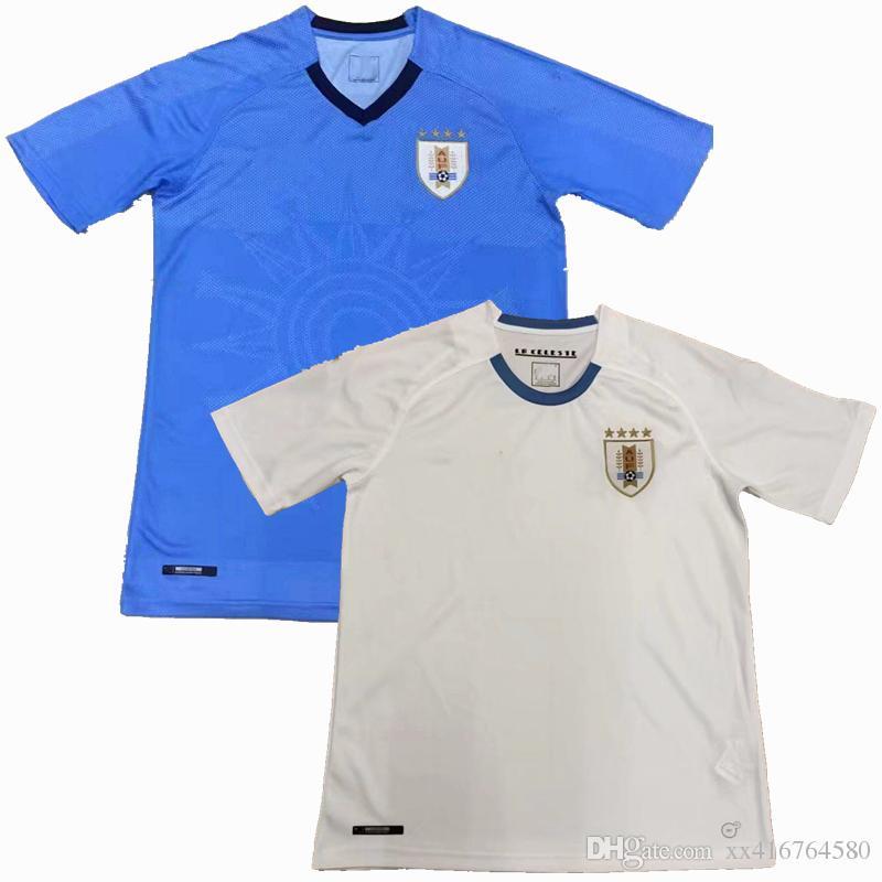 048bf4df0a15c Camisetas De Fútbol De Uruguay De Calidad Tailandesa 2018 Uruguay SUAREZ  CAVANI GODIN 18 19 Equipo Local A Domicilio Uruguay Por Xx416764580