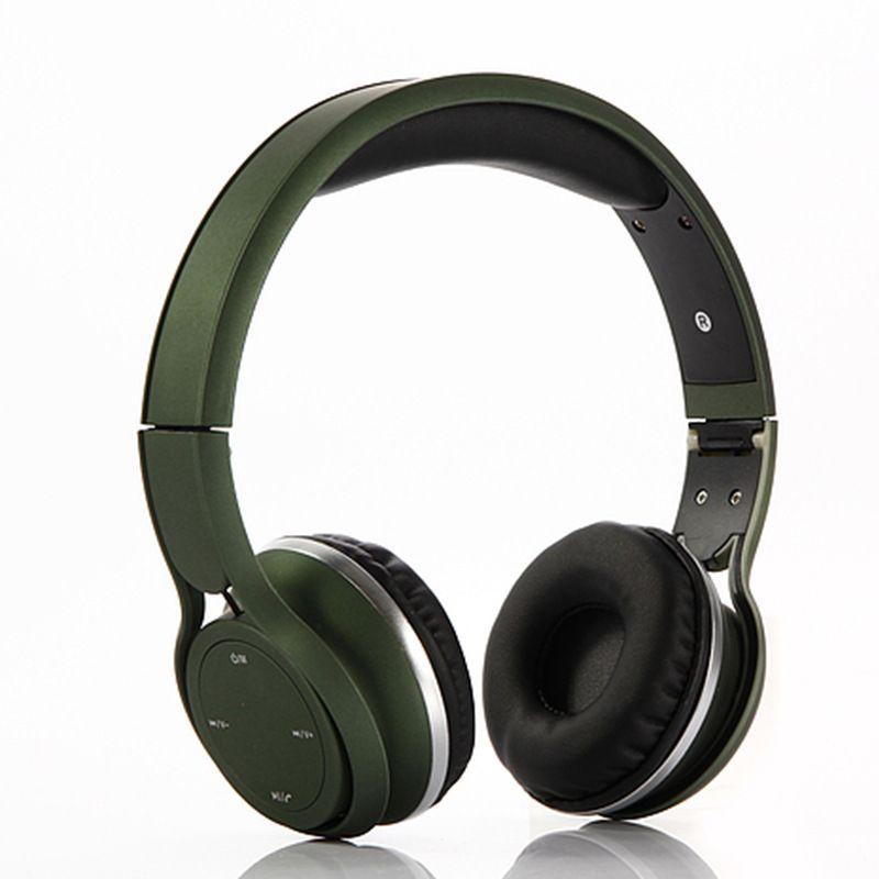 Acheter Gigiboom Bass Pliable Sans Fil Bluetooth Casque Radio Fm