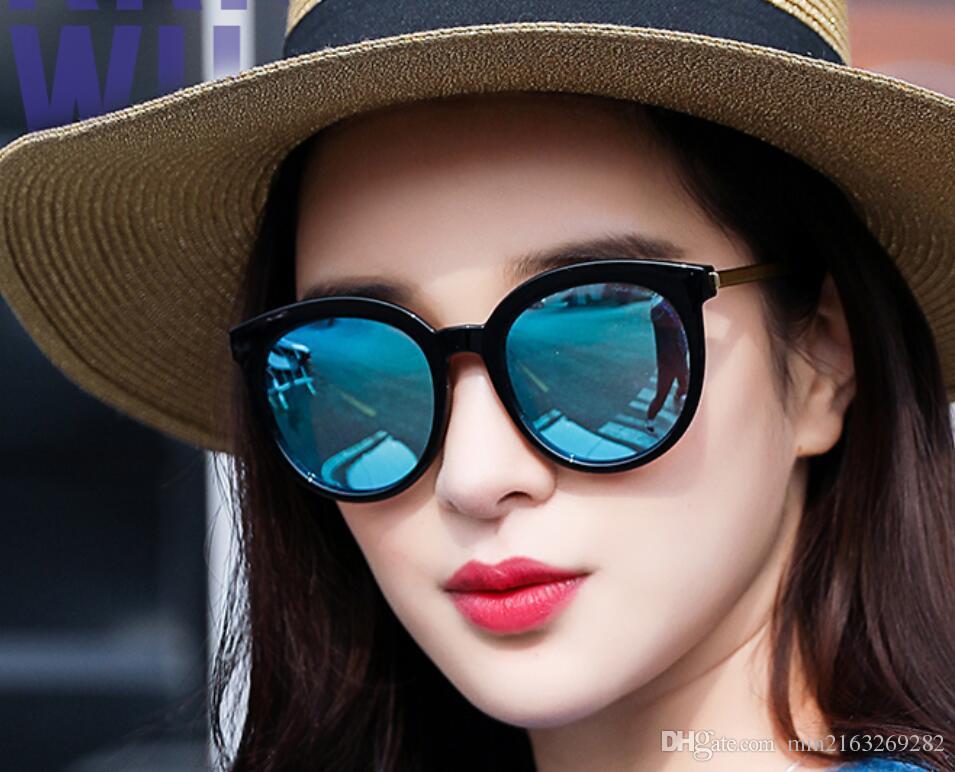 Cara RedondaSolEstrellas Caras Gafas De PolarizadasDamas Sol Marea Largas MujeresUltravioletas 2018 Para Y gf6yvYb7
