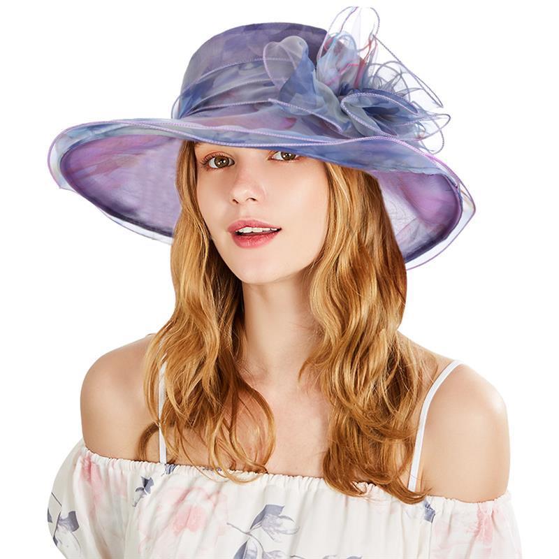 4274d3125b5 Vbiger Women Sun Hat Fashionable Beach Sunhat Wide Brim Hat Trendy Bowler  Sun Cap Stylish Top Hat Straw Hat Tilley Hats From Wutiamou