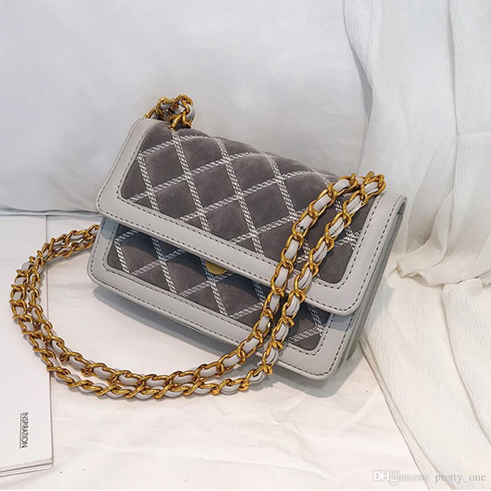 e7265f97f Acquista Hot Fashion Rhombus Handbags Borse Borse Da Donna Donna Borse A  Tracolla Con Tracolla A Catena In Velluto Shopping Donna A $17.97 Dal  Pretty_one ...
