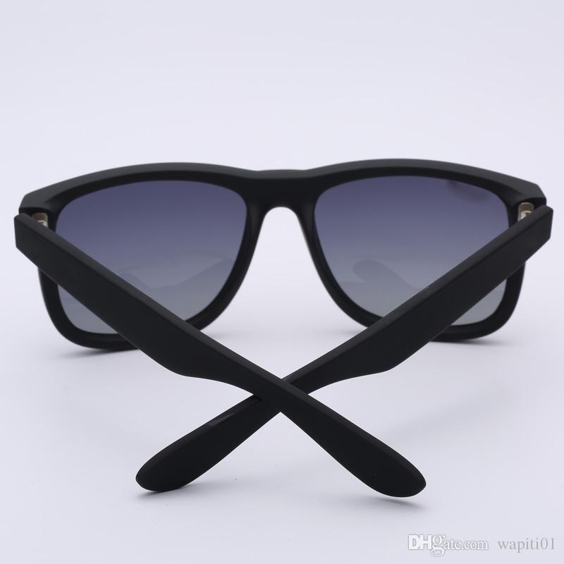 Top quality 4165 óculos de sol da marca modelo justin para homem mulher polarizada lentes UV400 com caixas originais, pacotes, acessórios, tudo!