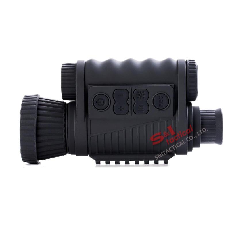 WG650 Jagd Nachtsichtoptik 6X50 Digital Nachtsichtzielfernrohr Infrarot NV Monokular 200M Reichweite mit KOSTENLOSER 32-GB-Karte