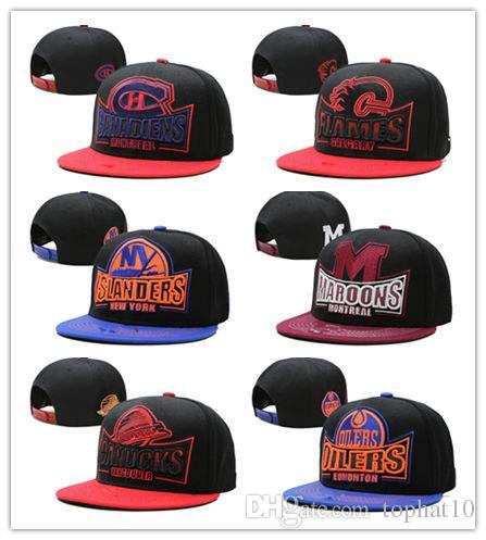 Good Quality 2018 NHL Mighty Hockey Snapback Hats Anaheim Ducks Bone Cap  Flat Fashion Nhl Hats Sports Cheap Mens   Women Baseball Caps Cool Hats  Lids Hats ... 9633941ec59
