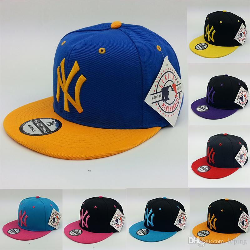 87042e51bdb Baseball Cap Designer Hat NY Logo Adjustable Snapbacks Hats Many New Design  Snapback Caps Snap Back Cap Men S Sport Hat Hats For Men Hatland From  Lcping