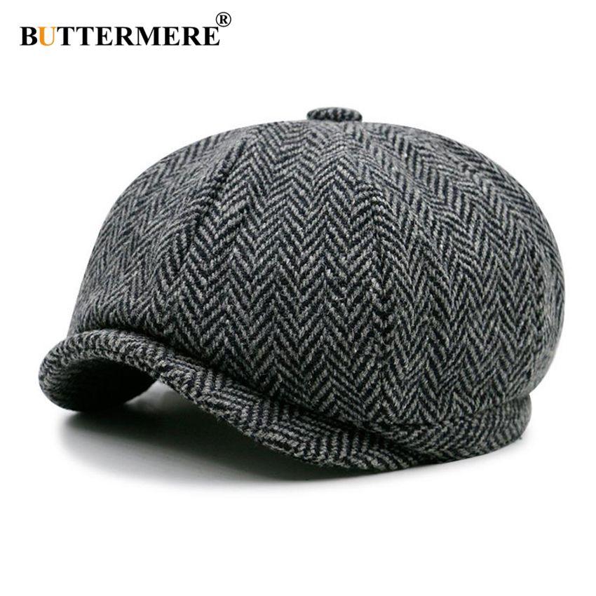 Compre Buttermere Jornaleiro Cap Beret Chapéu Das Mulheres Dos Homens De Lã  Hat Tweed Gatsby Octogonal Preto Branco Espinha De Peixe Hera Vintage S926  De ... 43c46699f47