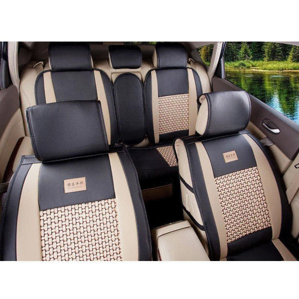 5 Seat Pu Leather Car Seat Covers Universal Size M L For Jeep Ford Focus  Subaru Nissan Volkswagen Chevrolet Mazda Infiniti Bmw Baby Car Seat Blanket  Baby ...