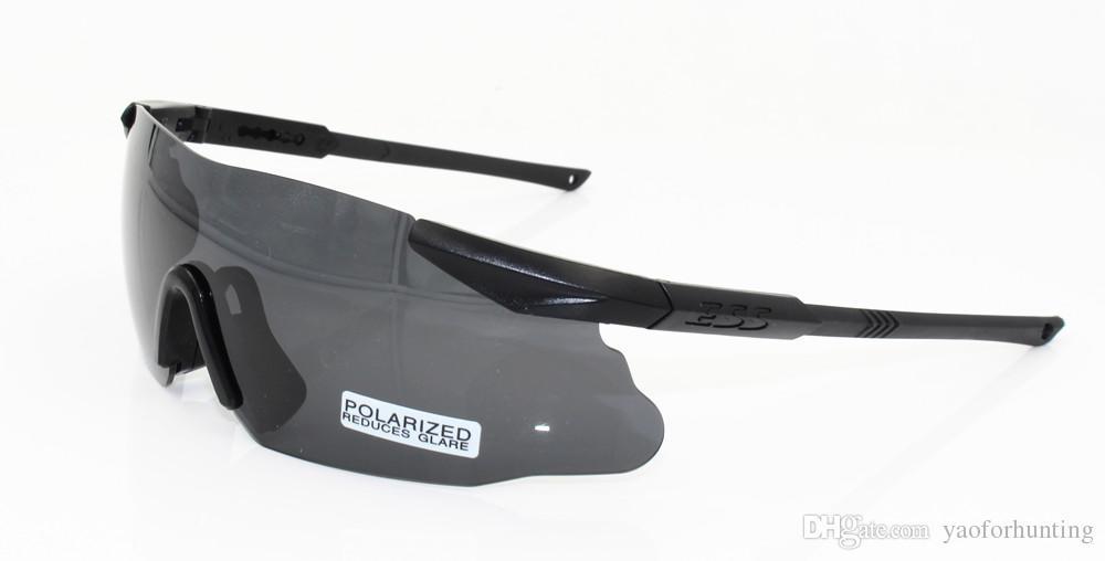 bade0e57c1 Compre 3 Pares De Lentes ESS ICE 2.4 Gafas De Seguridad A Prueba De Balas  Gafas Tácticas Del Ejército TR90 Marco Para Disparar Al Aire Libre Caza  Wargame No ...