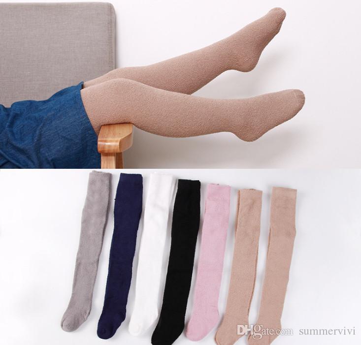 72465560269c 2019 Winter New Kids Pantyhose Girls Velvet Thicken Leggings ...