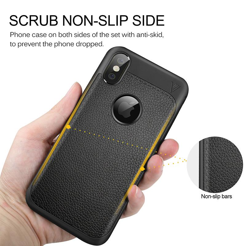 For Iphone X Phone Case New Hot Selling TPU luxury Striae Phone Cover Mobile Cellphone Case For note 8 DHL OTH381
