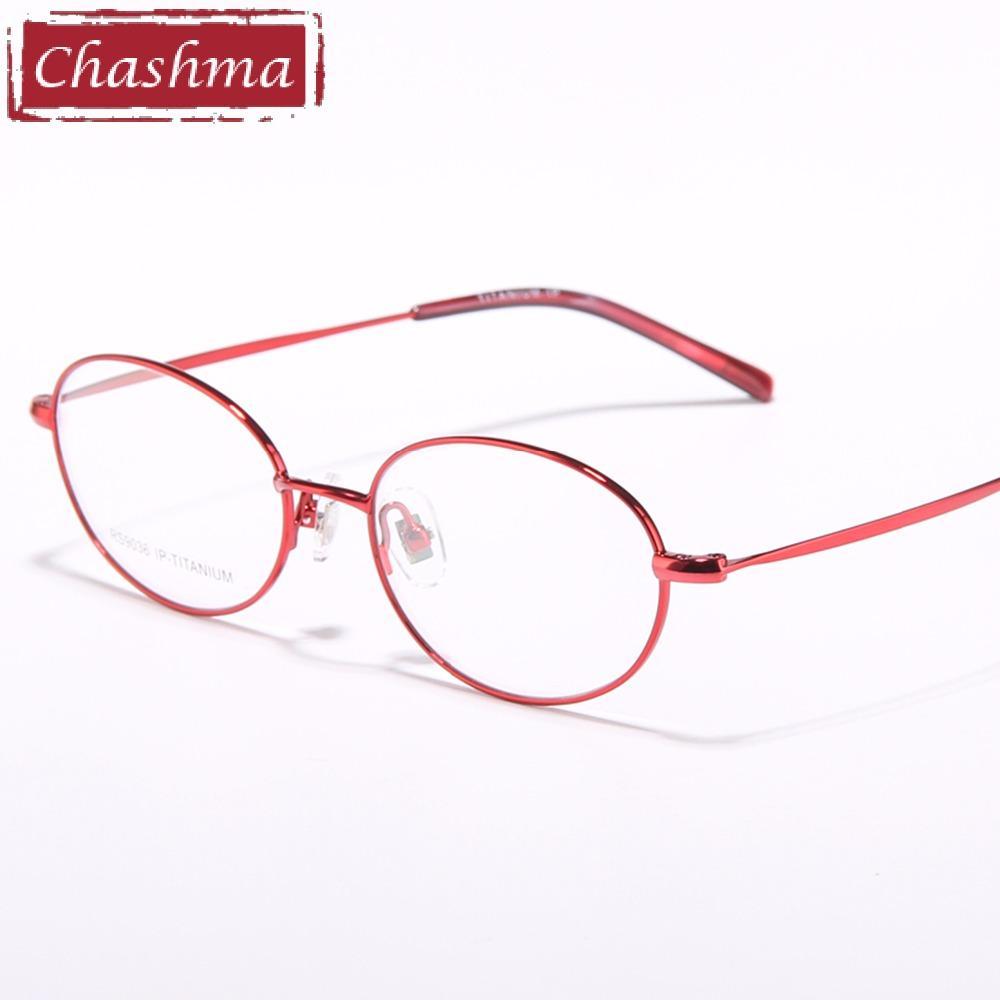 Großhandel Chashma Marke Brillen Frauen Vintage Brille Ultraleicht