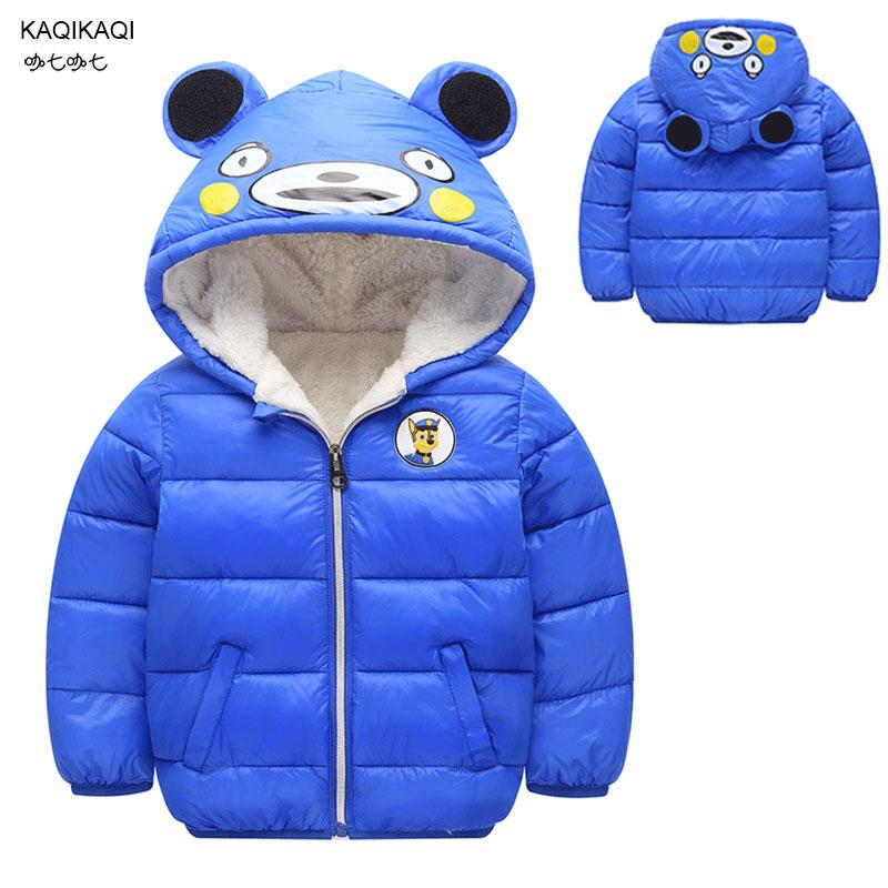 4771428b8 Children Cotton Outerwear Winter Jackets Baby Girls Boys Coat ...