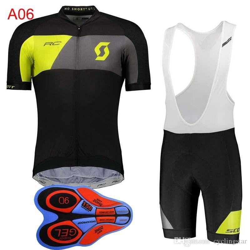 2018 New Team Scott Mens Cycling Jersey Suit Summer Style MTB Bike Clothing  Quick Dry Short Sleeves Bicycle Maillot Ropa Ciclismo H0701 Best Mountain  Bike ... 690b5ec98