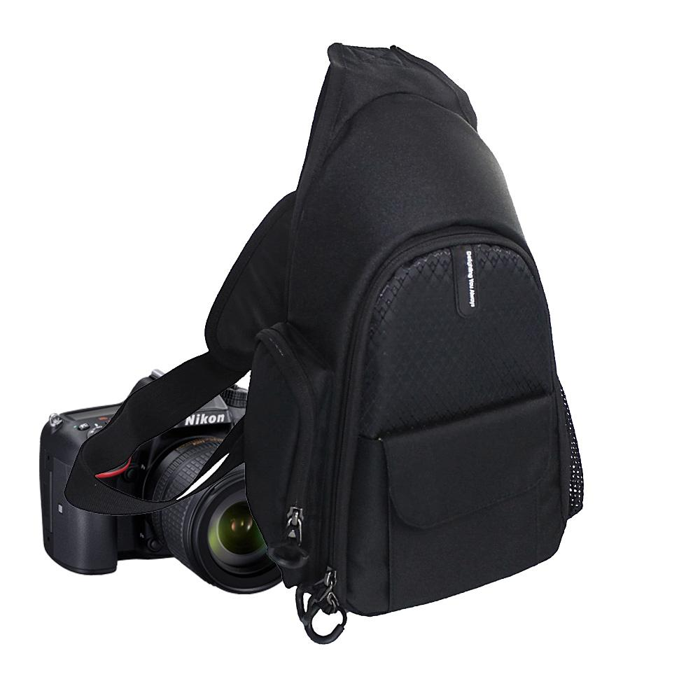 DSLR Camera Shoulder Bag Video Triangle Case for Nikon D3400 D7200 D7100 D5600 D5300 D5200 D5100 D3200 D3300 D3100 D750 D90 D810