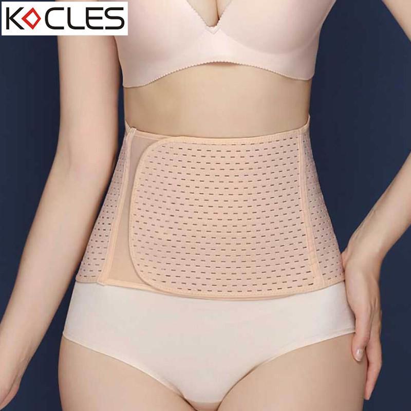 ed46844605d Women Waist Trainer Belt Belly Band Belts Hot Body Shaper After ...