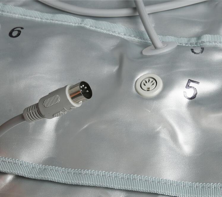 Infrarrojo lejano Presoterapia EMS Estimulación muscular eléctrica Sauna Presión de aire Cuerpo de drenaje de linfa adelgazante Máquina CE
