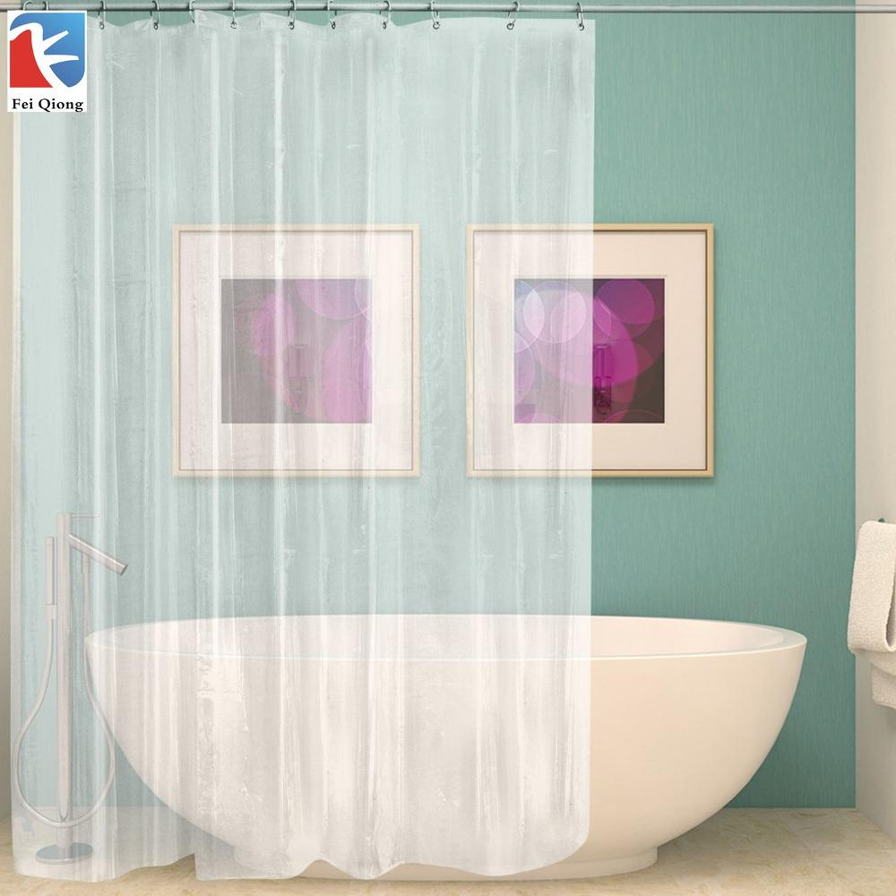 FeiQiong Brand Clear Linner Curtain Liner 72x72 12