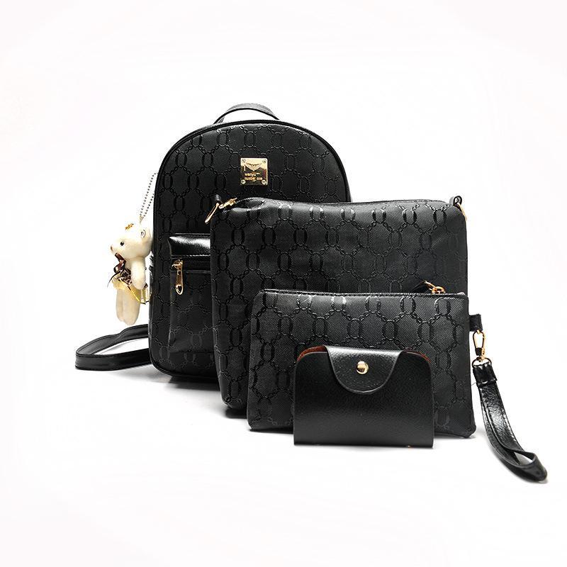 9e90b0fed6 Fashion Designed Brand Bear Backpack Women Bag Diamond Lattice School Bags  For Girls BackpacFor Women 2018 New Shoulder Bags Boys Backpacks Hydration  ...