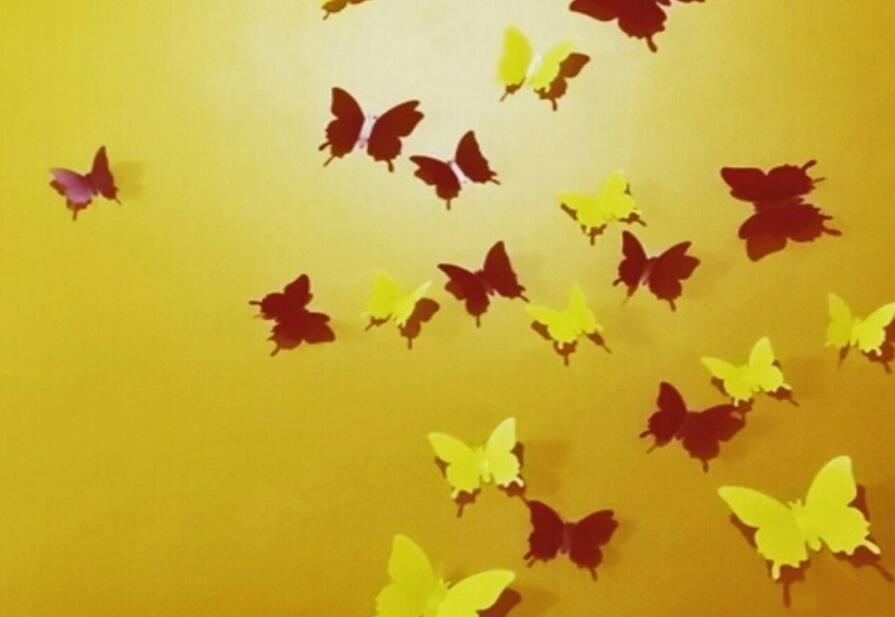 серия бабочки бабочки бабочки бабочки бабочки 3D бабочки 3D бабочки Съемные стикеры стены бабочки