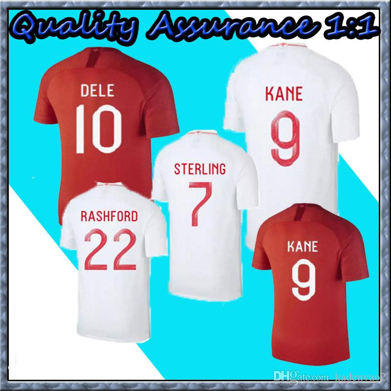 eac3bac9f 2019 Thailand DELE ALLI World Cup Soccer Jerseys 2018 KANE RASHFORD VARDY  Jersey LINGARD STERLING STURRIDGE Football Kits Shirt NO  ENGland From  Kadenyao2