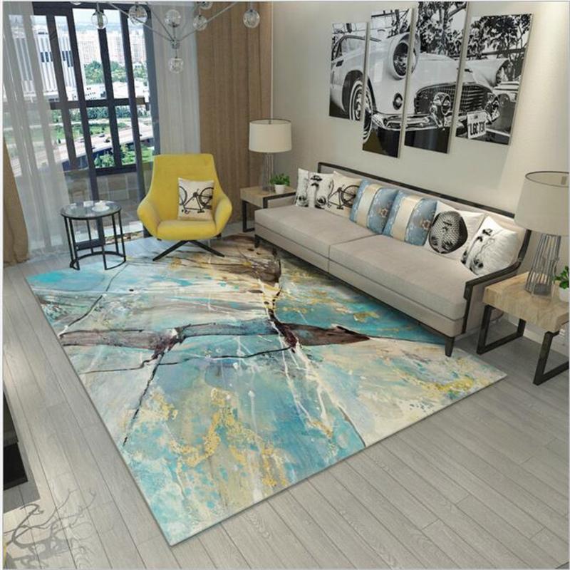 grosshandel abstrakte grosse pastoralen stil moderne weiche teppich fur wohnzimmer schlafzimmer kind spielen zarte teppich home boden mode arbeitszimmer mat
