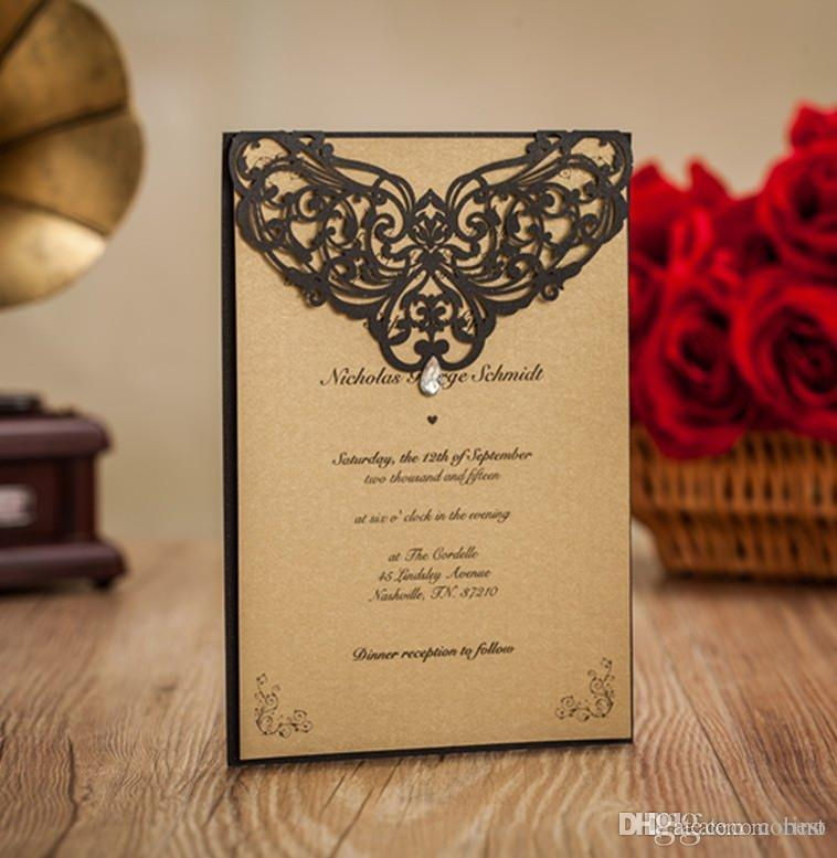 Laser Cut Wedding Invitations Cards Personalized Wedding Birthday ...