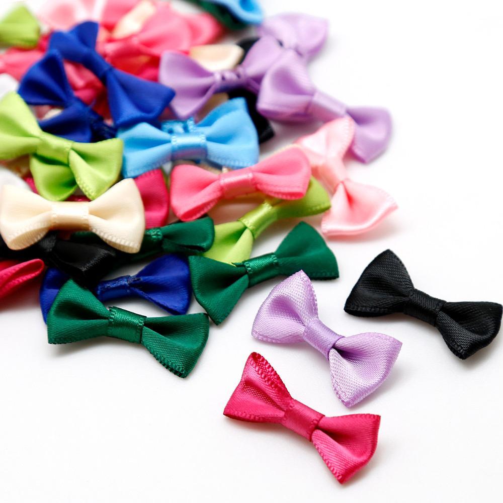 Satin Ribbon Bow Gift Package For Diy Handmade Bow Wedding