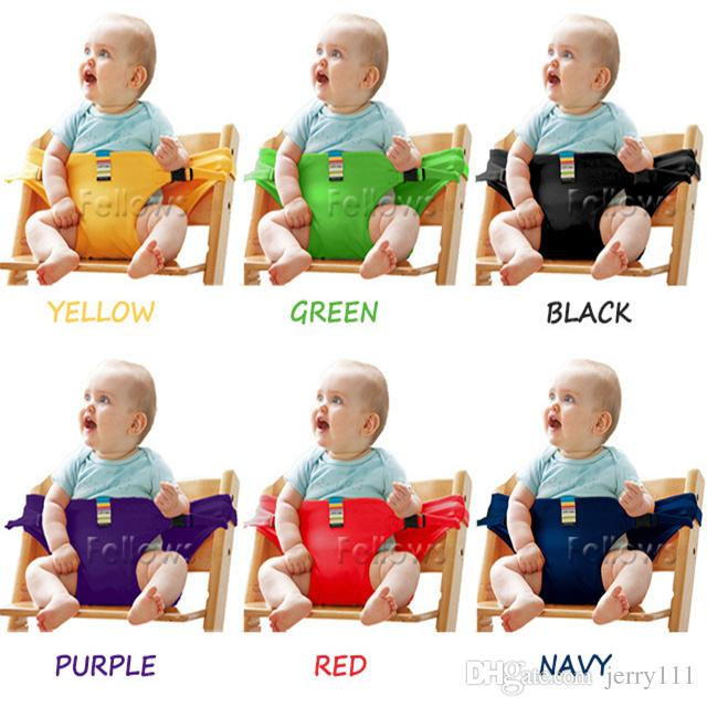 Online Cheap Baby Sack Seats Portable High Chair Shoulder Strap Infant  Safety Seat Belt Toddler Feeding Seat Cover Harness Dining Chair Seat Belt  LC679 By ...