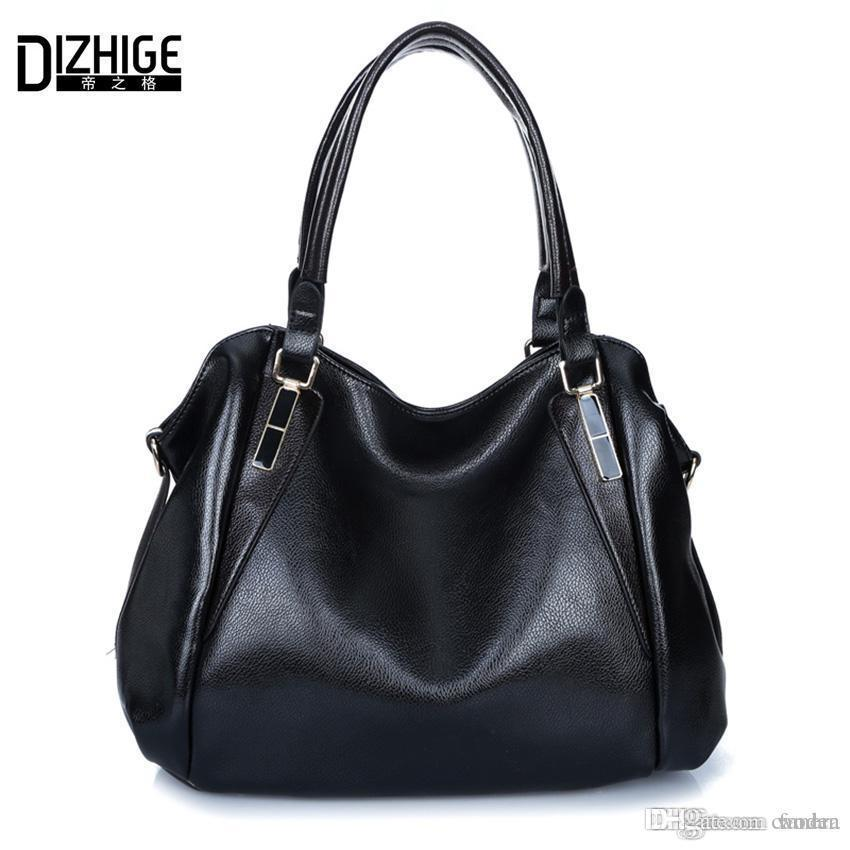 Wholesale- New 2016 Summer Elegant Women Handbags Pu Leather ... ab702eb320ab4