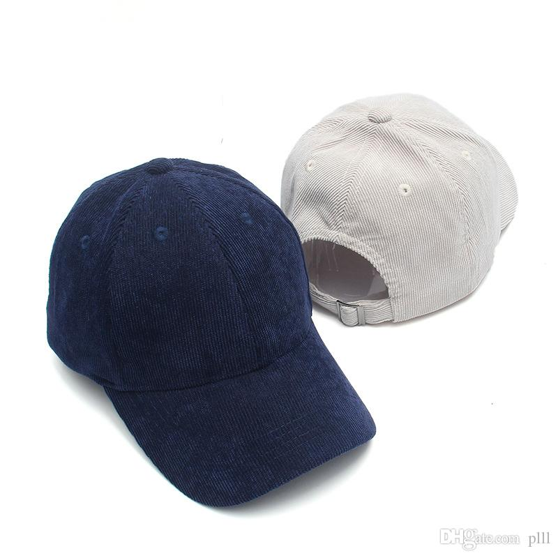 44677ffc973e0c Korean Version of the Solid Color Light Baseball Cap Autumn And ...