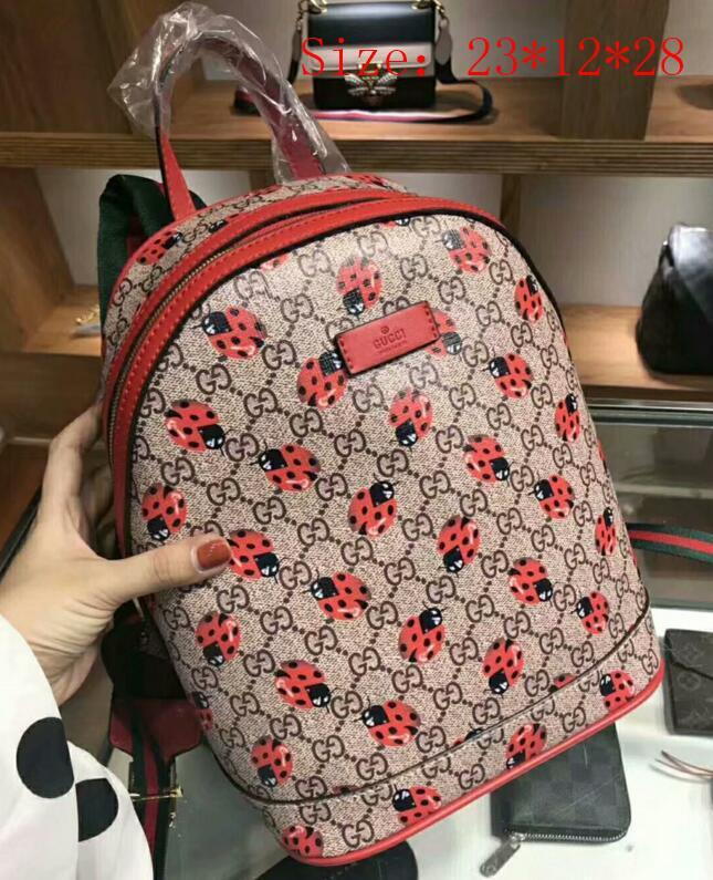 7661b3d6eb 2018 Top Quality Fashion Backpack Men Women Leather Bags Famous Designer Backpacks  Bag Luxury Embroidered Backpacks Ladies Travel Bags Dakine Backpack Best ...