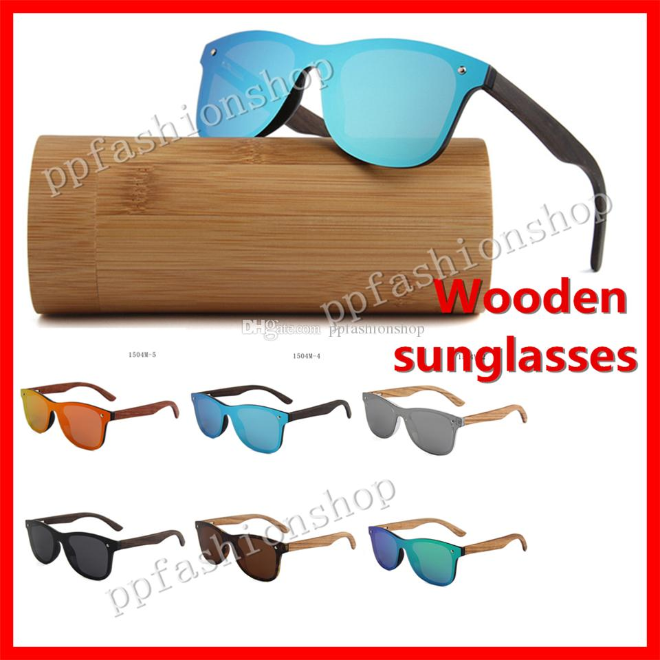 ce28886c5d Luxury Polarized Wooden Sunglasses Handmade Bamboo Wood Glasses Men S And  Women S Fashion Colorful Sunglasses Optional Dragon Sunglasses Vintage  Sunglasses ...