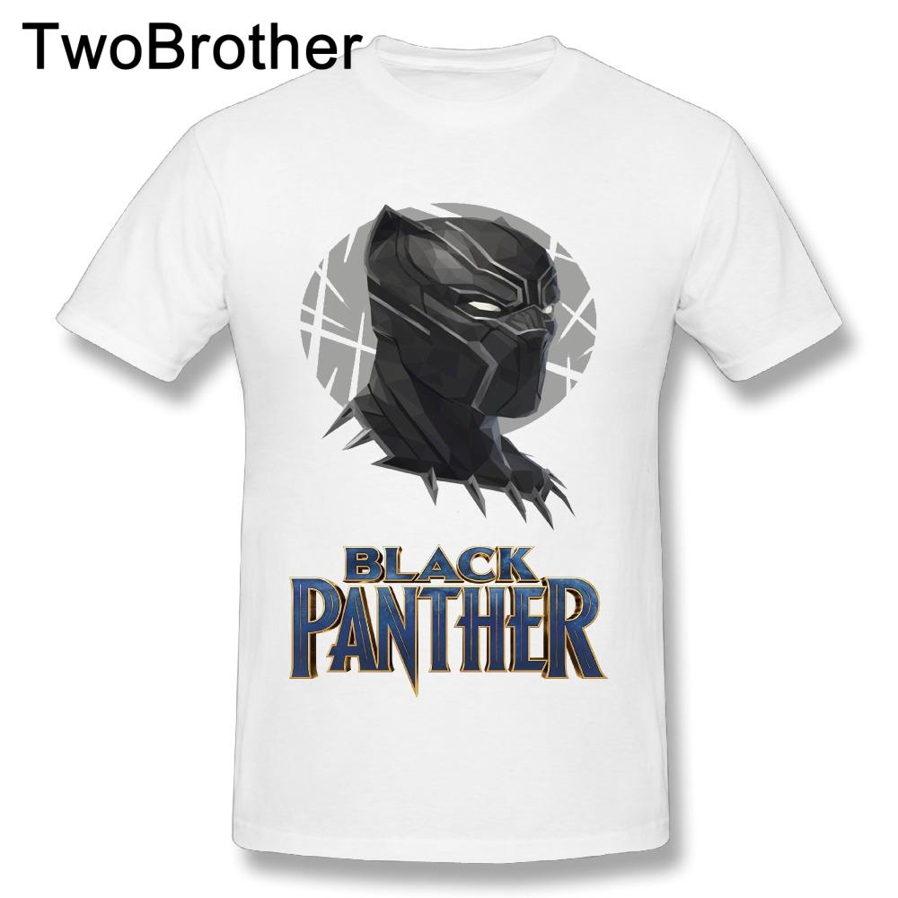 2018 New Arrival Men S Black Panther Tees Custom Cotton T Shirts Hot Movie  Top Sale T Shirt Purchase T Shirt Crazy Tee Shirts Online From Lanfystore e17f9bd4a