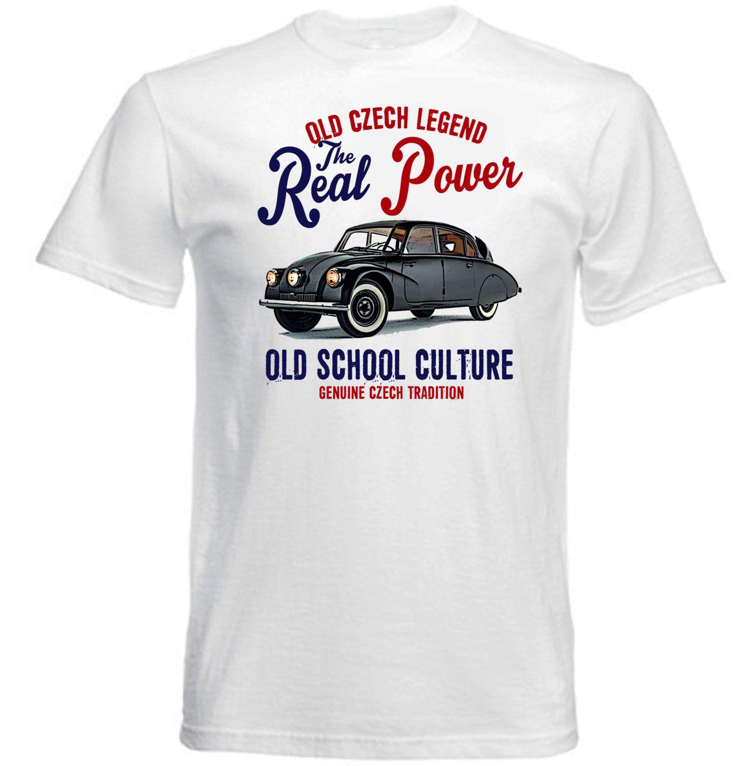 VINTAGE CZECH CAR TATRA T87 NEW COTTON T SHIRTdenim Clothes Camiseta