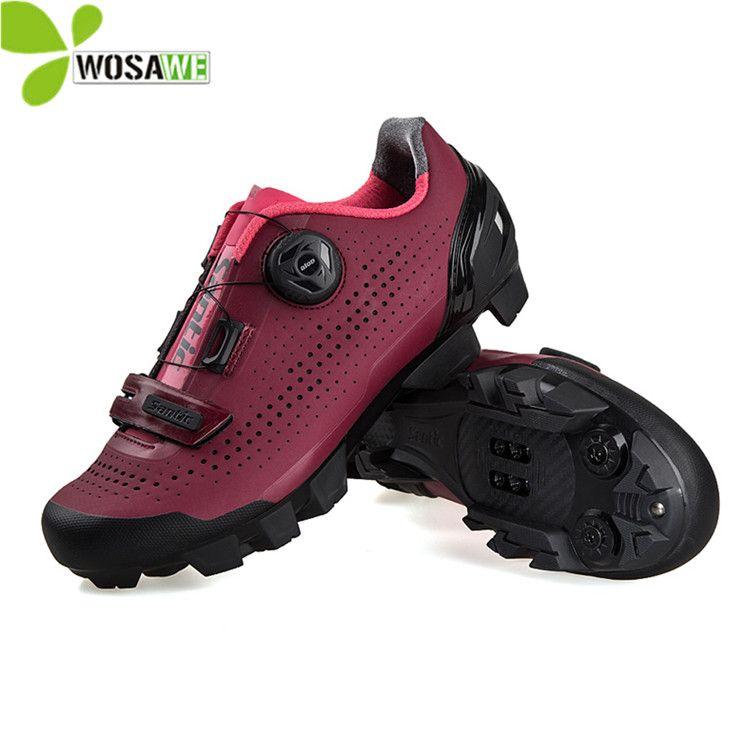d670dcd24 Zapatillas De Ciclismo Santic Para Mujer Zapatillas De Ciclismo De Montaña  EUR 36 39 Zapatillas De Ciclismo MTB Para Bicicleta De Carretera  Transpirables PU ...