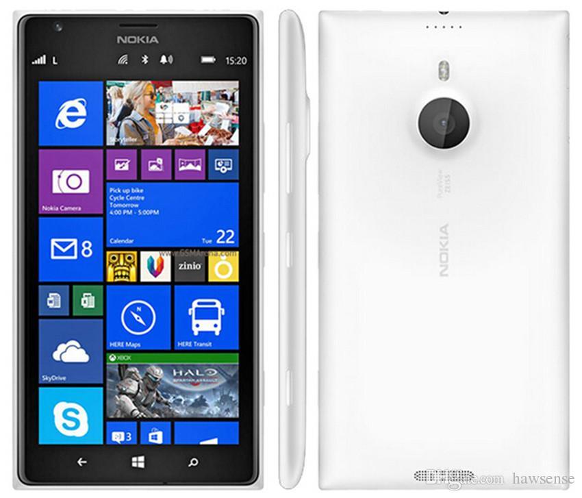 Refurbished Original Nokia Lumia 1520 Windows Phone 6.0 inch Quad Core 2GB RAM 32GB ROM 20MP Camera 4G LTE Smart Phone DHL