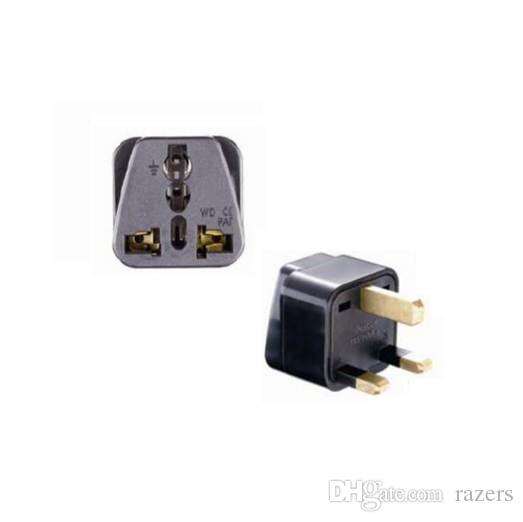 Universal Grounded Type G for GB UK HK AC Power Plug Travel Trip Adaptor  Adapter UK, Ireland, Cyprus, Malta, Malaysia,