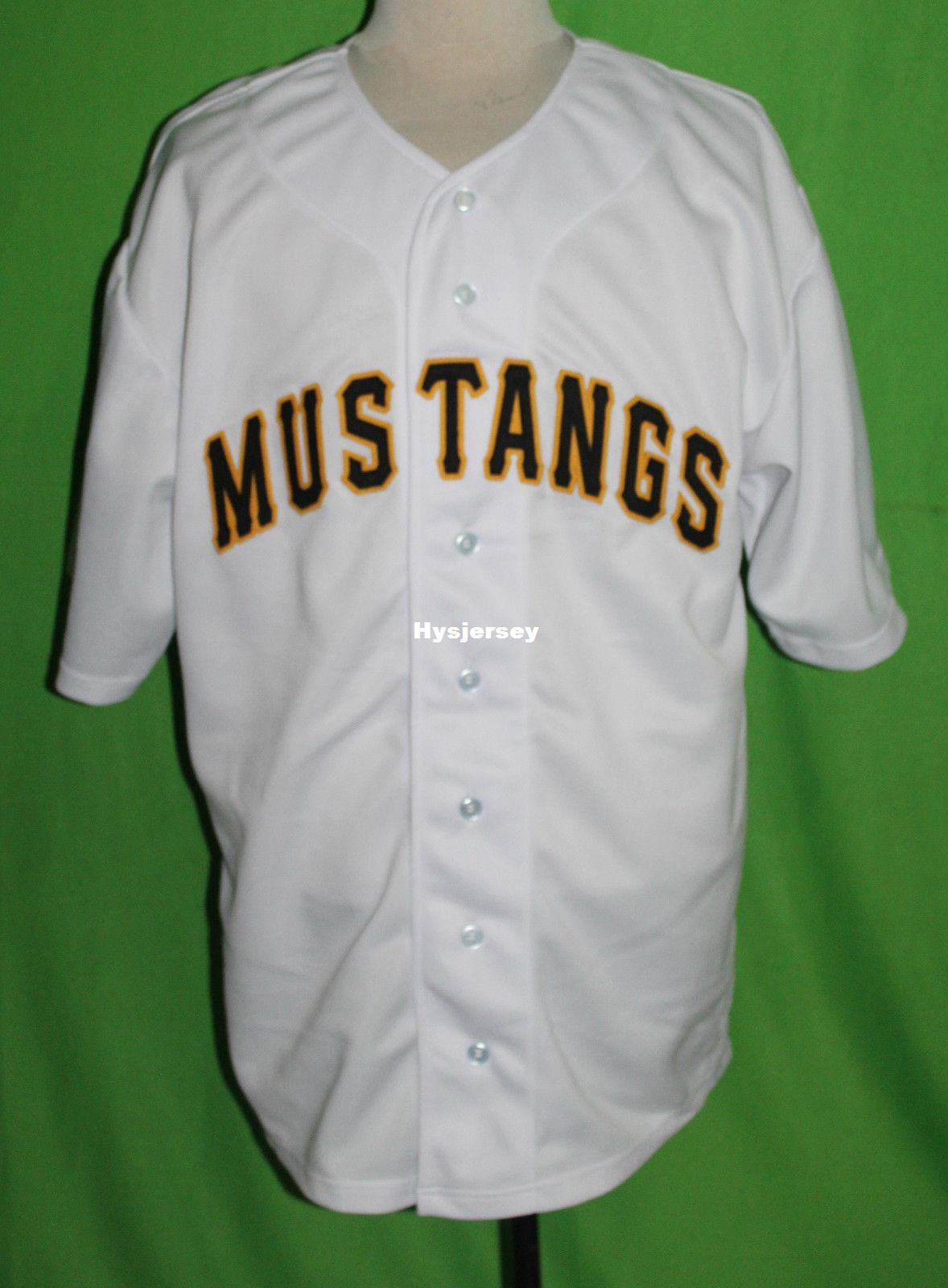 competitive price 84684 cc46c Cheap Retro BILLINGS MUSTANGS #27 1954 Home BASEBALL JERSEY Or Custom any  number any Mens Vintage jerseys XS - 5XL