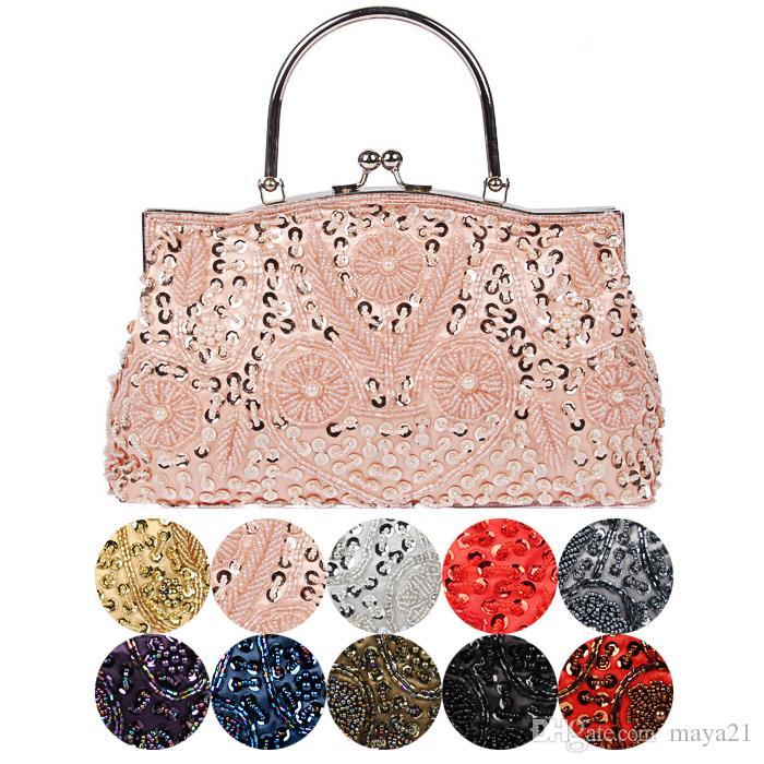 5c557e11f1 Wedding Clutches Bridal Handbags Wedding Bags Totes Clutches Beaded Evening  Handbag Party Clutch Bridesmaid Hand Bag Wholesale Designer Handbags Bags  For ...