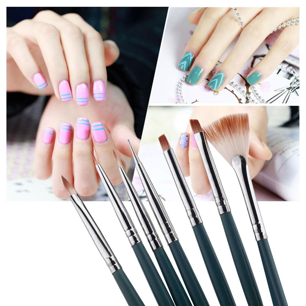 Diy Nail A Professional Nail Art Design Painting Pen Brush Tool Nail